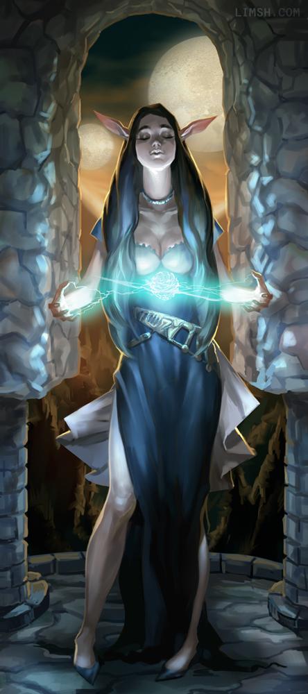 elf wizard limsh