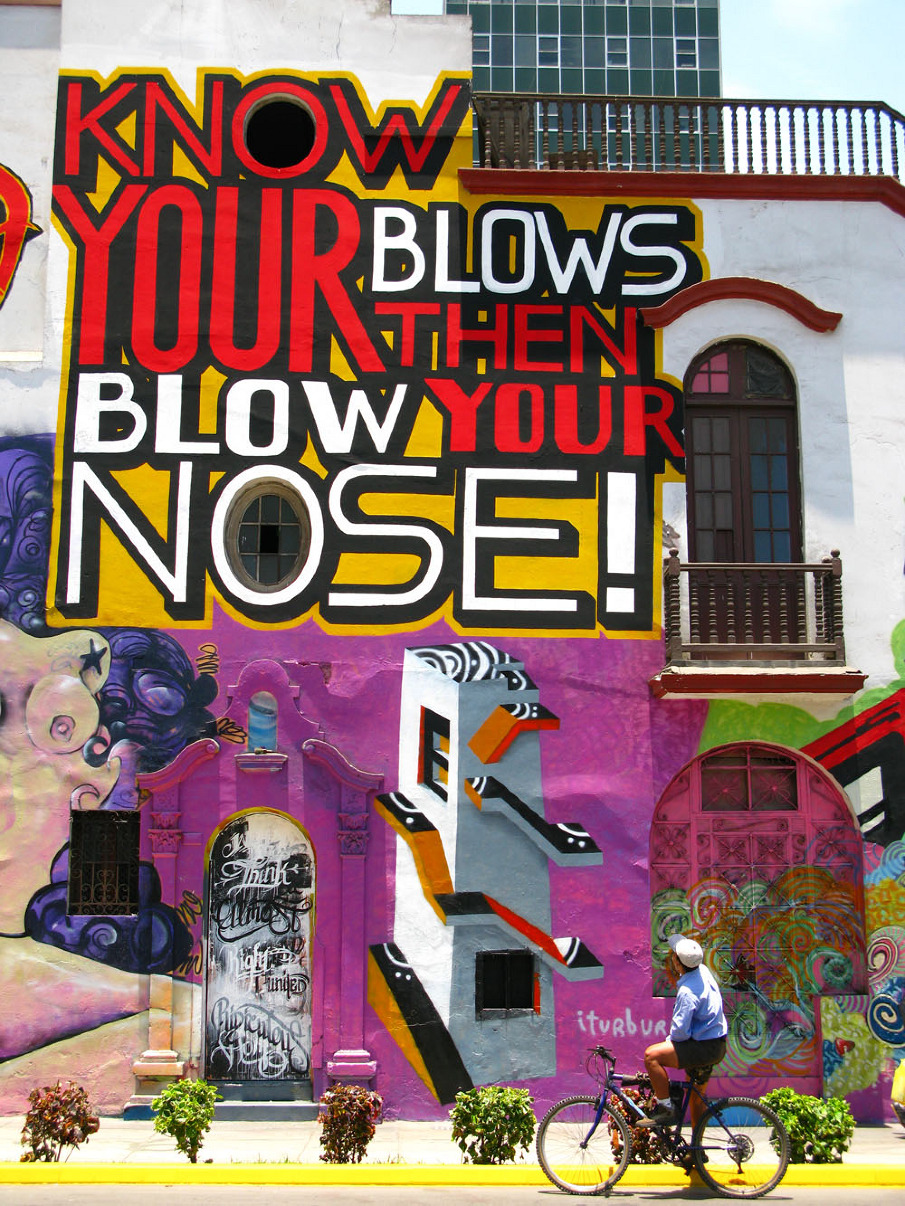 Image result for know your blows then blow your nose